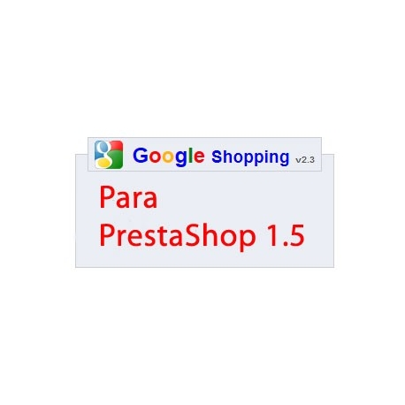 Módulo Google Shopping v2.3 para prestashop 1.5