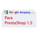 Módulo Google Shopping para Prestashop 1.5