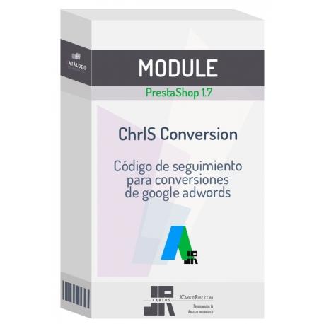 Módulo prestashop 1.7 Código de seguimiento para conversiones de Google Adwords