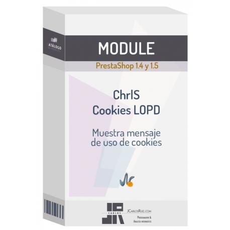 Módulo ChrlS Cookies LOPD