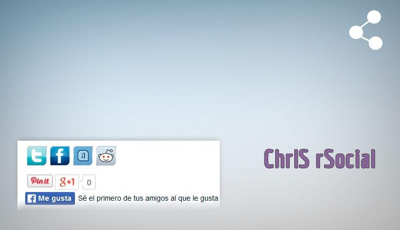 ChrlS rSocial - Comparte en redes sociales