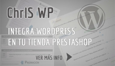 Integra WordPress en tu tienda PrestaShop